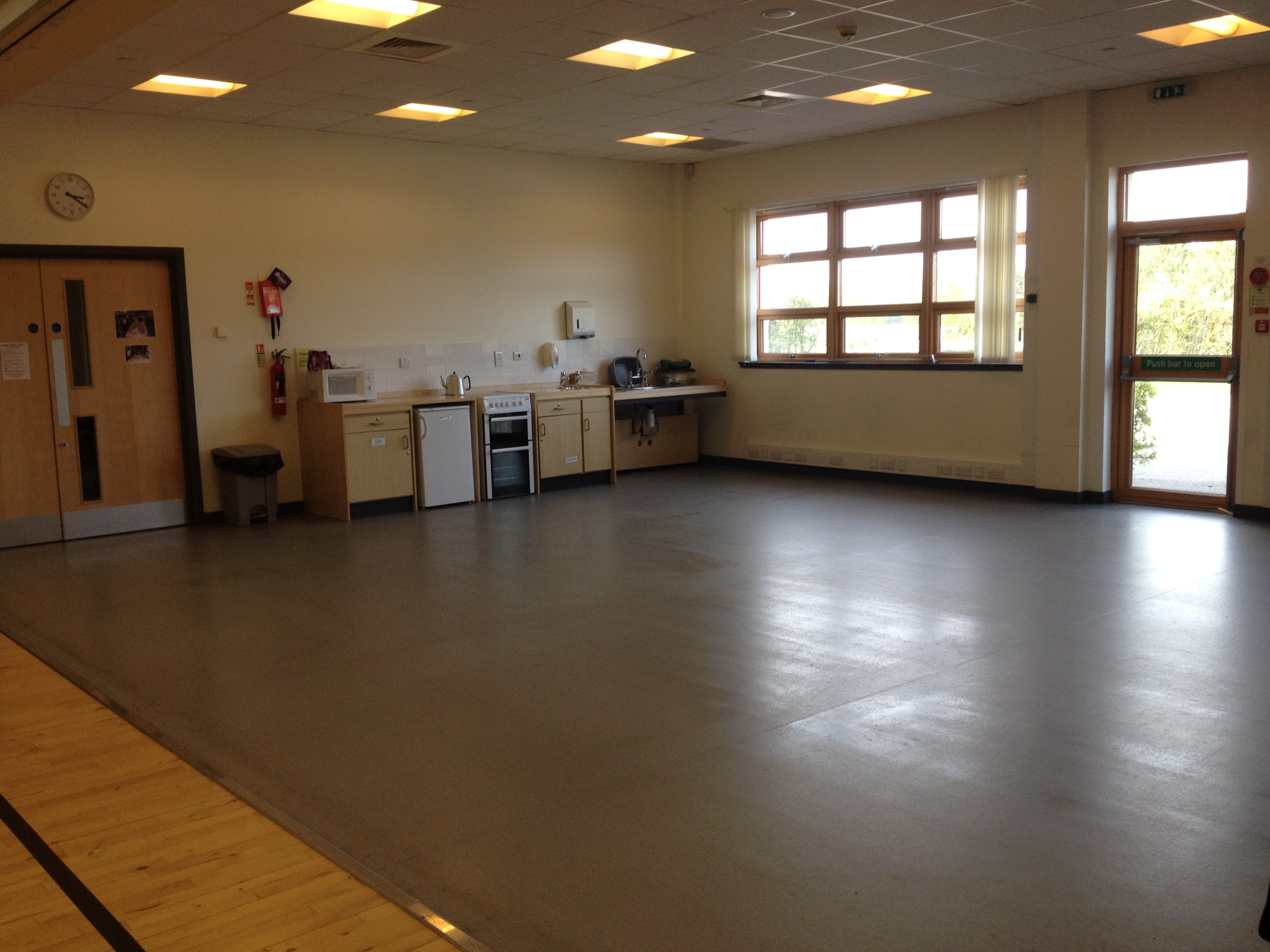 Cawdor Community Centre with dining Room with galley kitchen