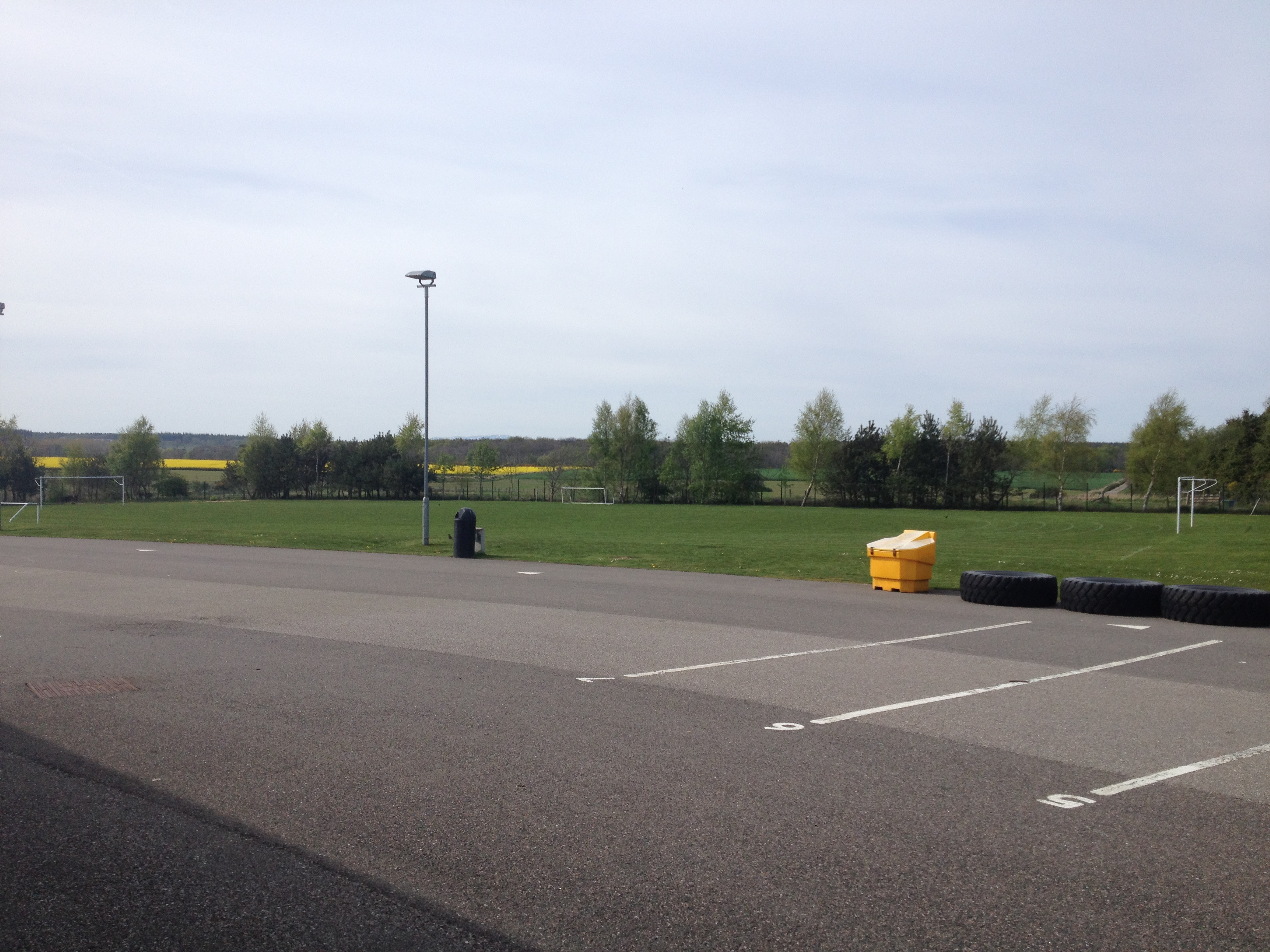 Outside area available / football / playing field v2